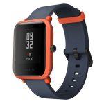 Bratara Fitness Xiaomi Amazfit Bip 2018 cu GPS , Display cu Touchscreen 1.28″  Facebook , WhatsApp , Culoare Portocaliu