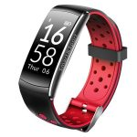 Bratara Fitness FIT Q8 MAX, NOTIFICARI Apeluri/Mesaje/Facebook, Red Edition