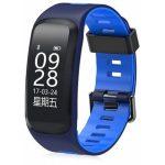 Bratara fitness MoreFIT™ F4 Pro Plus, IP68 submersibila  Android, iOS, notificari, albastru