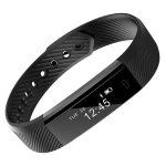 Bratara fitness MoreFIT™ ID115 Pro, BT 4.0, rezistenta la apa IP67, notificari, Android, iOS, vibratii, negru