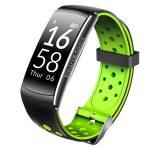Bratara Fitness FIT Q8 MAX, NOTIFICARI Apeluri/Mesaje/Facebook, 0.96″ OLED Display, Green Edition